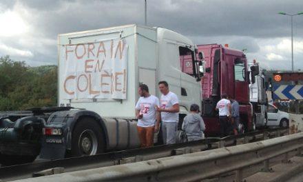 Blocages: la région lyonnaise épargnée pour une bonne part par le mouvement des routiers