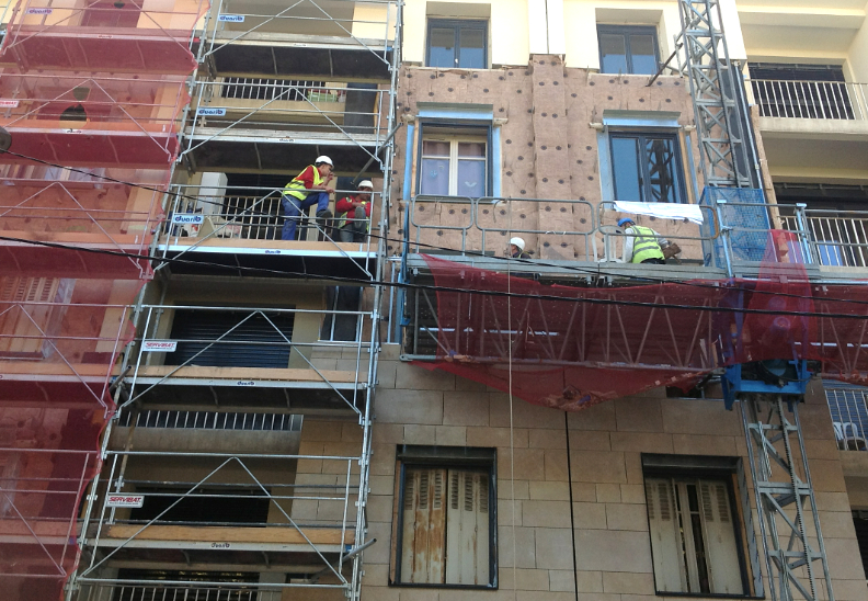 Travaux dans les résidences HLM du Champ de Mars: 60 % d'économie de chauffage…