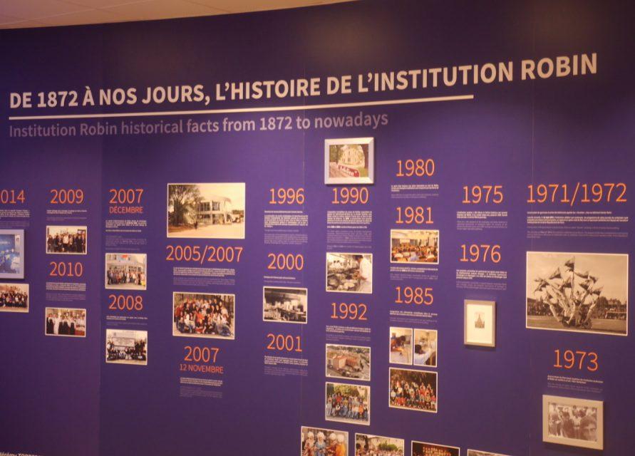 A l'occasion de ses 145 ans d'existence: l'Institution Robin s'offre un musée