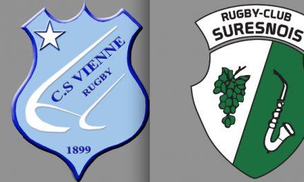 Rugby: large victoire à domicile pour les Viennois qui engrangent le bonus offensif