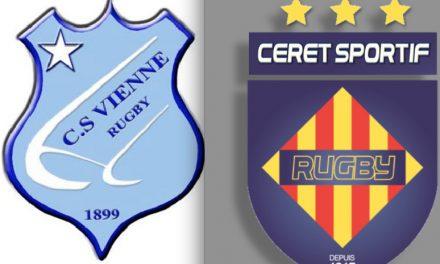 Rugby: défaite cuisante des Viennois à Céret