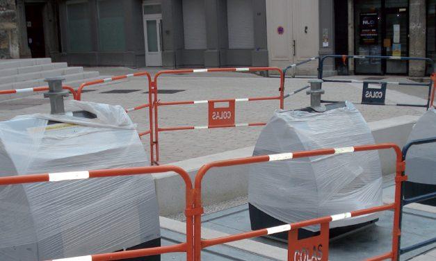 Les conteneurs enterrés de la rue Marchande à Vienne seront mis en service le 30 octobre