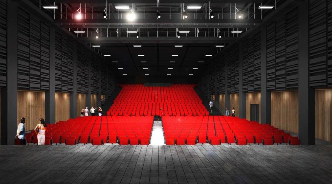 Espace Saint-Germain à Vienne: la salle du Manège sera inaugurée le 6 janvier