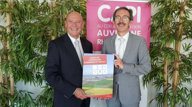 Pour favoriser l'emploi des riverains au sein de l'aéroport: la CAPI et Saint Exupéry signent une charte de coopération