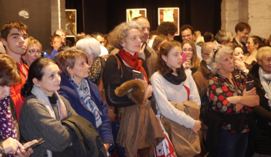 Le Grand Prix Sang d'Encre attribué à Hervé Jourdain lors d'un Festival à la forte affluence