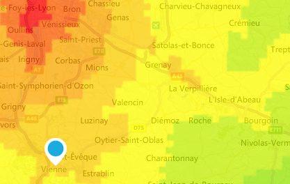Pollution de l'air à Vienne, Bourgoin, dans le Nord-Isère et à Lyon: revoilà les particules fines!