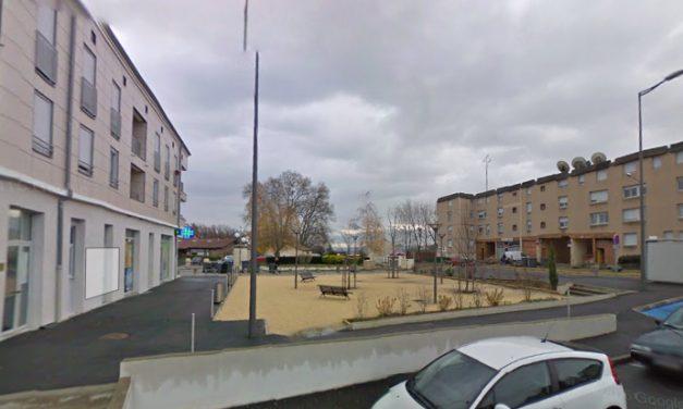 Immeuble évacué et adolescent blessé dans l'incendie d'un immeuble dans le quartier de Malissol à Vienne