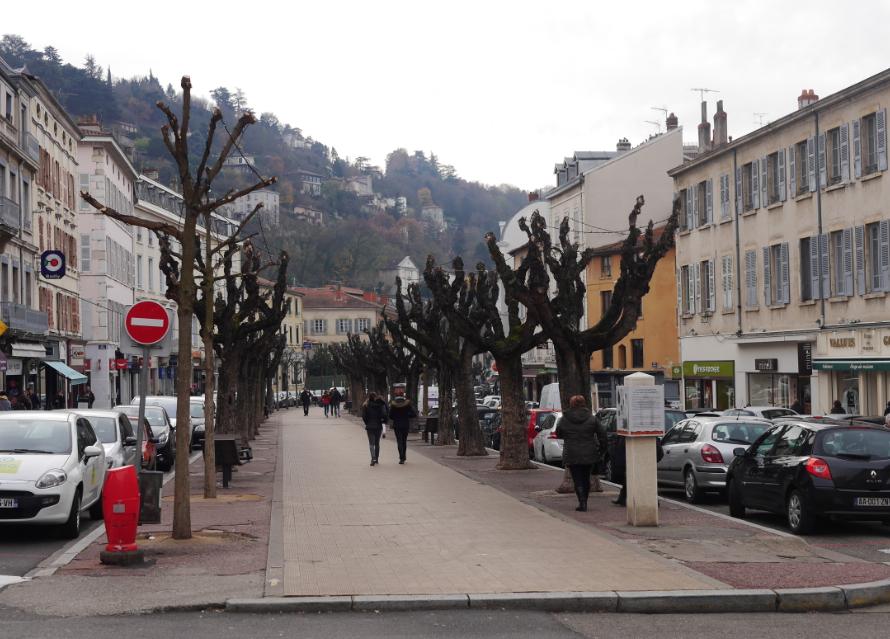 Après la rue Marchande, place désormais aux travaux, Cours Romestang…