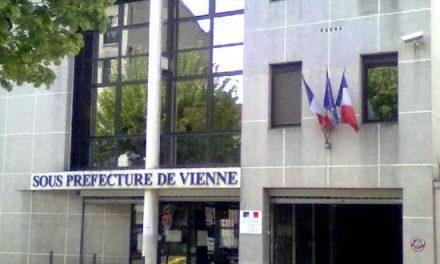 Attention: la sous-préfecture de Vienne fermée pour travaux toute la semaine prochaine…