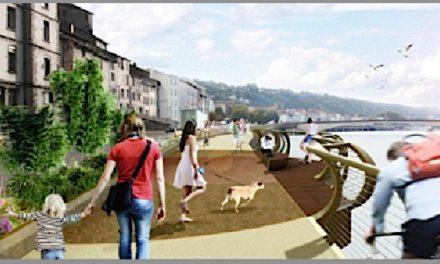 Voie verte sur le quai, le long du Rhône: les travaux préparatoires débuteront dès le 4 décembre