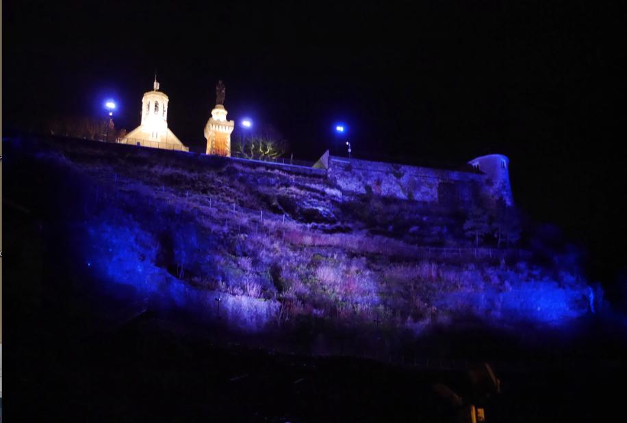 Colline de Pipet à Vienne: et que la lumière soit…plus forte!