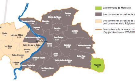 Nouvelle communauté  de communes, Vienne Condrieu Agglomération: le nouveau président sera élu le 4 janvier