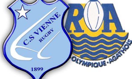 Rugby: de bon augure pour la suite, face à Agde, les Viennois encore invaincus sur leur terrain