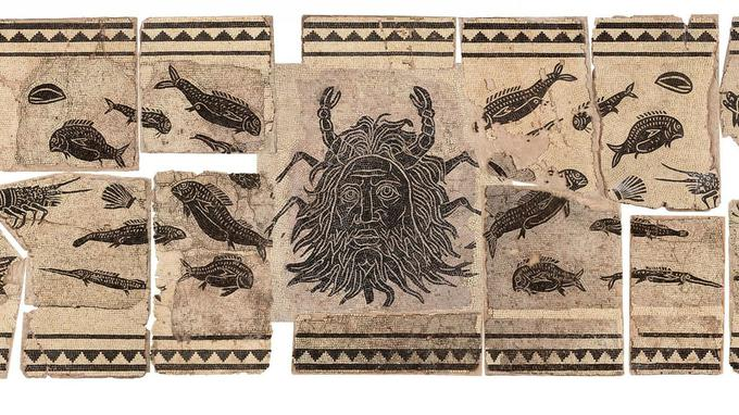 La mosaïque du dieu océan n'aura finalement coûté que 53 290 euros aux finances viennoises