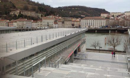Il aura fallu attendre 13 ans! Les travaux de l'escalier monumental du musée de St-Romain-en-Gal terminés