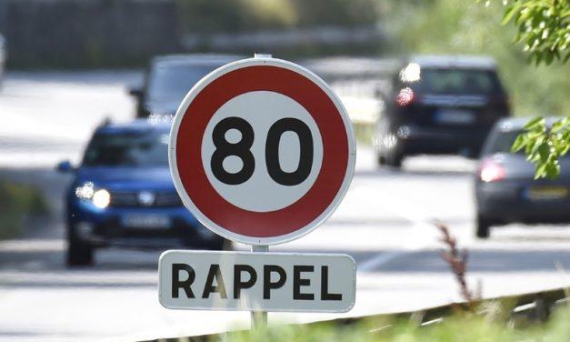 C'est décidé, dès le 1er juillet: limitation de la vitesse à 80 km/h sur les routes secondaires…