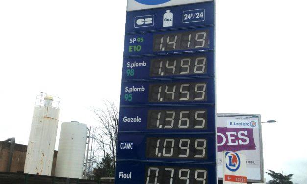 Les prix de l'essence et du diesel ont bondi dans les stations-services à Vienne et alentours…
