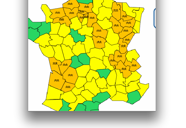 Le débit du fleuve-roi a plus que triplé: le Rhône et l'Isère en alerte orange inondation