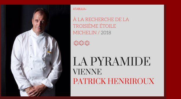 Rumeurs autour de la sélection 2018 du Guide Michelin: Patrick Henriroux cité pour une possible 3ème étoile