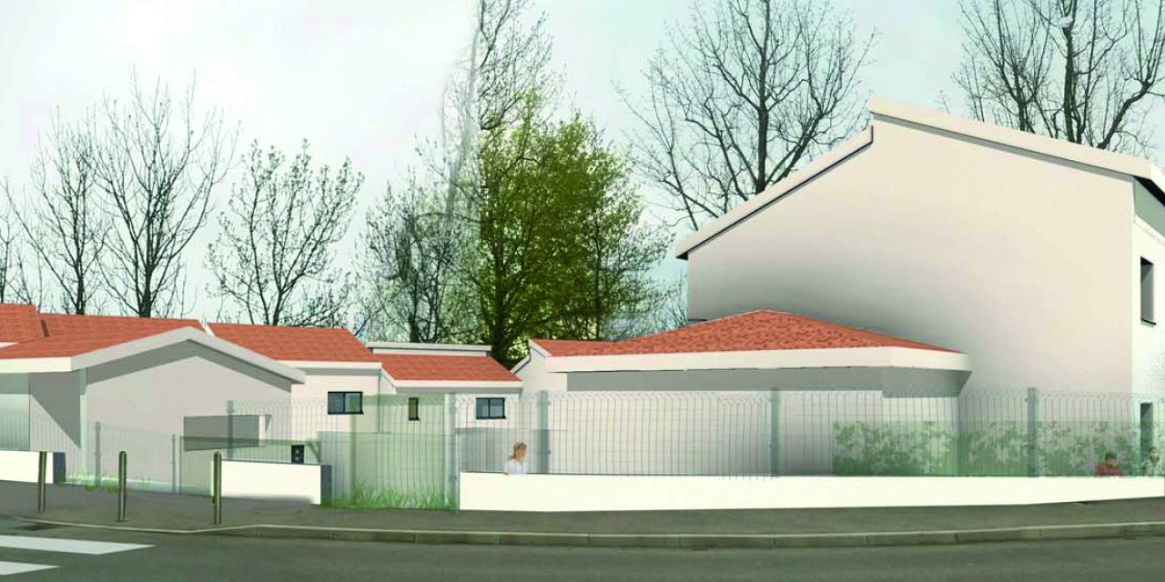 Malissol/Vienne: l'ancienne école François Truffaut laisse la place à douze logements