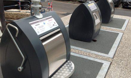 Vingt-quatre d'ici 2020: de nouveaux conteneurs enterrés inaugurés, place Saint-Louis à Vienne