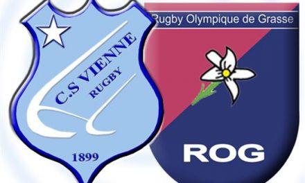 Rugby: face à Grasse, les Viennois perdent leur troisième match d'affilée à Etcheberry