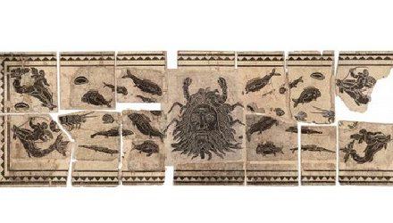Sauvée d'une vente aux enchères: la mosaïque du dieu Océan exposée aux Viennois en mai