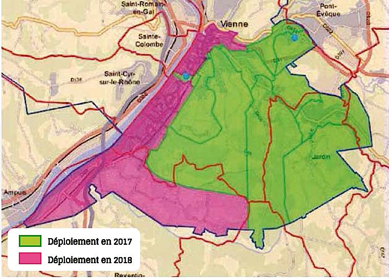 La fibre optique désormais déployée à l'Espace Saint-Germain, mais aussi à Jardin, Chasse, St-Romain…