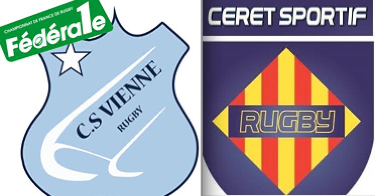 Rugby: les Viennois explosent les joueurs de Céret