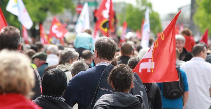Journée de grève:  manifestation jeudi à Vienne, de l'Espace Saint-Germain à la mairie