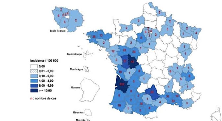 Epidémie de rougeole dans le Rhône et l'Isère: appel à la vigilance