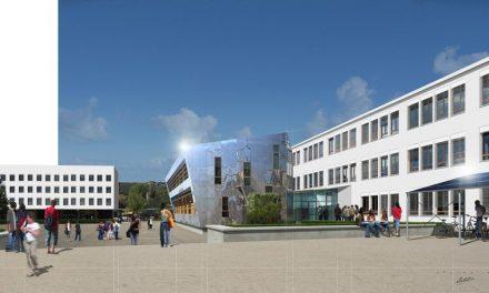 Lycée Galilée: l'opération rénovation des bâtiments, terminée.Il ne reste plus que les ateliers…
