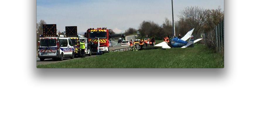 Deux morts: un bimoteur s'écrase sur l'Autoroute A 47, près de Saint-Chamond