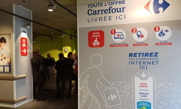 Préparés à Saint-Quentin-Fallavier: Carrefour va ouvrir les premiers «drivepiétons» de Rhône-Alpes