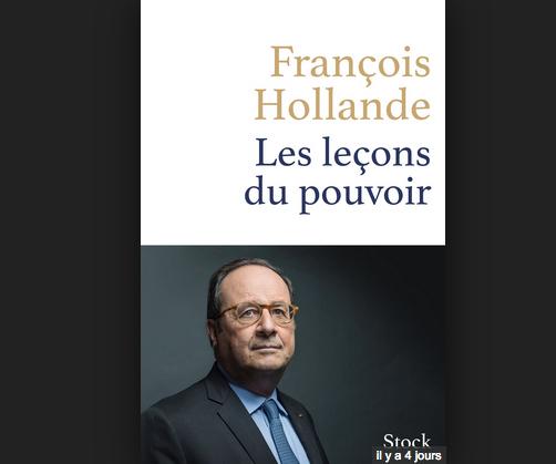 François Hollande dédicace jeudi son livre à la librairie Lucioles à Vienne