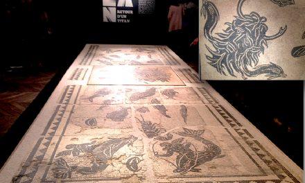 Mosaïque sauvée au cloître St-André-le-Bas: une exposition à 391 840 euros…