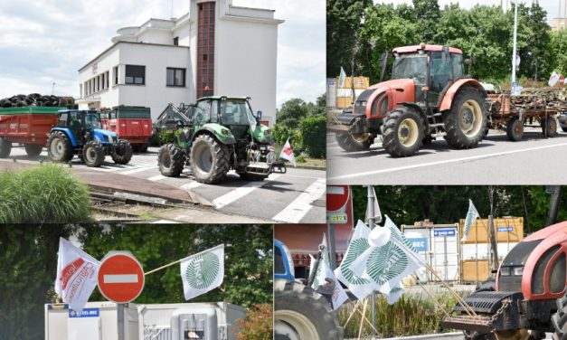 Selon les agriculteurs, le blocus de la raffinerie de Feyzinpourrait durer