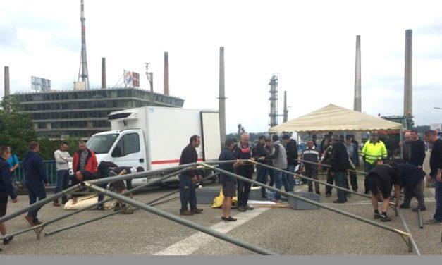 Mouvement terminé à la raffinerie de Feyzin: les agriculteurs lèvent le blocus