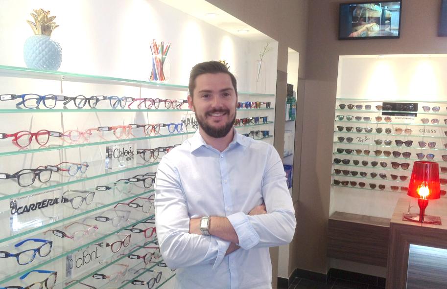 Commerce: retour d'un opticien dans la zone piétonne de Vienne