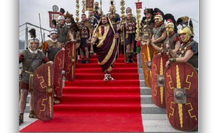 Journées gallo-romainesce week-end avec 400 figurants : vive l'Empereur Hadrien!