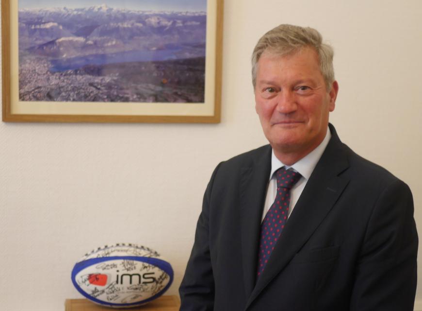 Jean-Yves Chiaro, nouveau sous-préfet de Vienne, prend ses nouvelles fonctions «sans pression, ni appréhension»