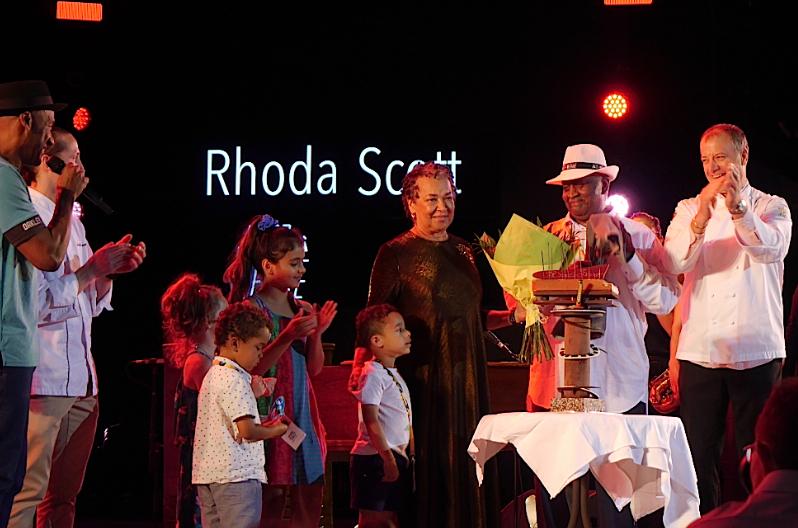 Rhoda Scott et Marcus Miller devant 6 000 festivaliers: soirée émotion