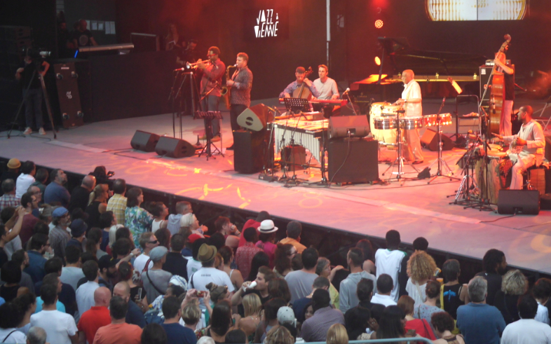 Jazz à Vienne: 6 000 festivaliers en transe pour Mama Africa
