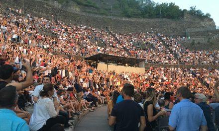 Le bilan de l'été au théâtre antique: 125 000 spectateurs au total,… plus qu'en 2017