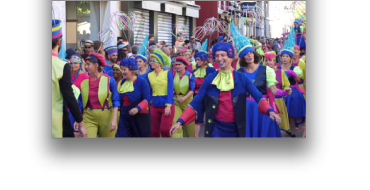 Le défilé de la Biennale de la danse en avant-première cet après-midi dans les rues de Vienne