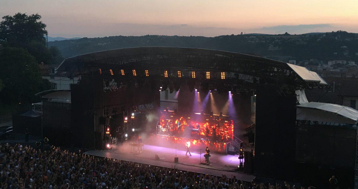 Concert de A-HA au théâtre antique de Vienne devant 4 300 fans: «C'était ça les années 80!»