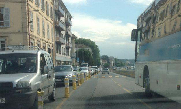 Travaux de la voie verteà Vienne : dure matinée pour les automobilistes!