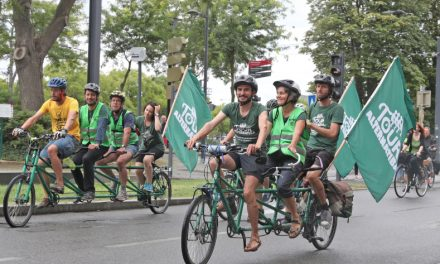 Parade, un «Village des initiatives», conférence: Alternatiba fait halte demain jeudi à Vienne