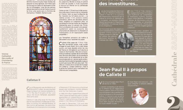 Les 100 000 touristes qui transitent par la cathédrale Saint-Maurice mieux informés sur le site religieux
