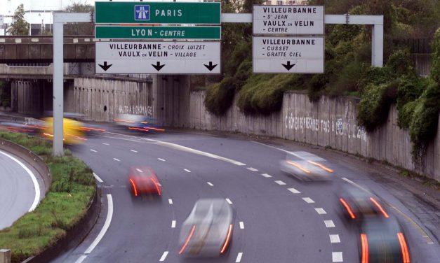 Le boulevard périphérique de Lyon va passer le 1er janvier 2019 de 90… à 70 km/h !